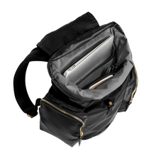 Load image into Gallery viewer, DRIFT KNAPSACK | JET BLACK inside view