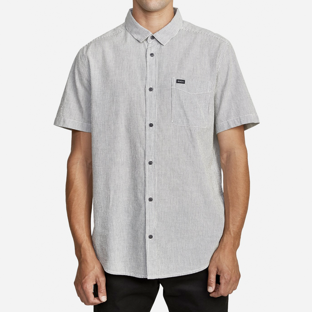 ENDLESS SEERSUCKER BUTTON UP SHIRT