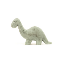 Load image into Gallery viewer, FOSSILLY BRONTOSAURUS STUFFED ANIMAL