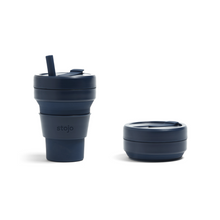 Load image into Gallery viewer, STOJO COLLAPSIBLE 16 OZ CUP | DENIM