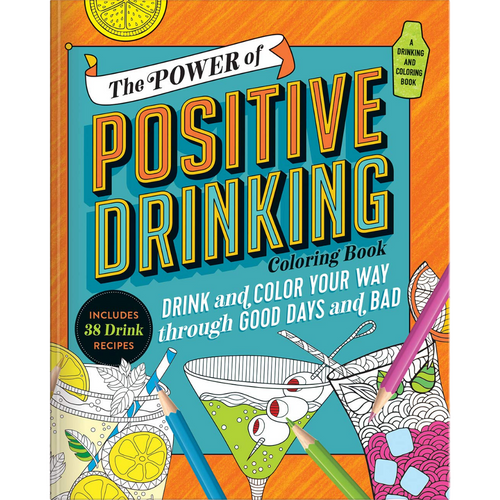 POSITIVE DRINKING COLORING BOOK