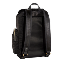 Load image into Gallery viewer, DRIFT KNAPSACK | JET BLACK back view