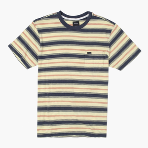 DAVIS STRIPE T-SHIRT | SUN YELLOW