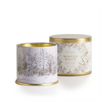 Load image into Gallery viewer, WINTER WHITE LARGE TIN ILLUME
