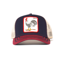 Load image into Gallery viewer, ALL AMERICAN ROOSTER TRUCKER HAT