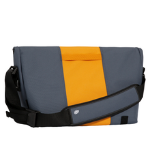 Load image into Gallery viewer, SMALL CLASSIC MESSENGER BAG | LIGHTBEAM BACK VIEW