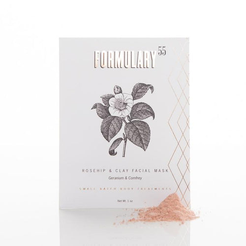 ROSEHIP & CLAY FACE MASK packaging
