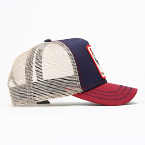 ALL AMERICAN ROOSTER TRUCKER HAT