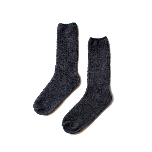 COZYCHIC MEN'S RIBBED SOCKS | INDIGO/PACIFIC BLUE