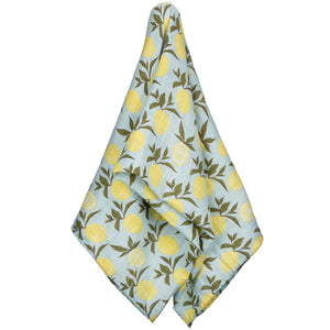 LEMON PRINT SWADDLE UNWRAPPED