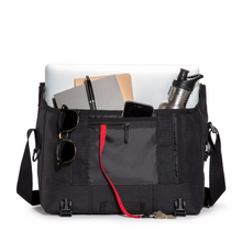 Load image into Gallery viewer, SMALL CLASSIC MESSENGER BAG | LIGHTBEAM FILLED