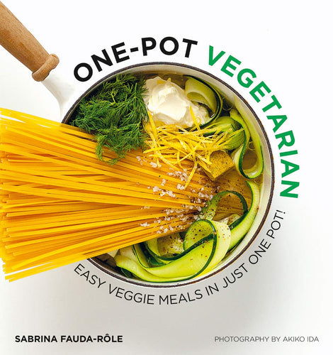 ONE POT VEGETARIAN FRONT COVER