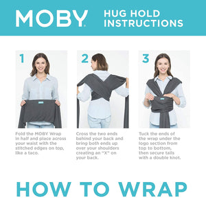 HOW TO WRAP A MOBY SLING