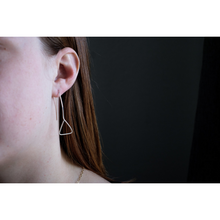 Load image into Gallery viewer, THE ASYMMETRIC EARRINGS STERLING SILVER