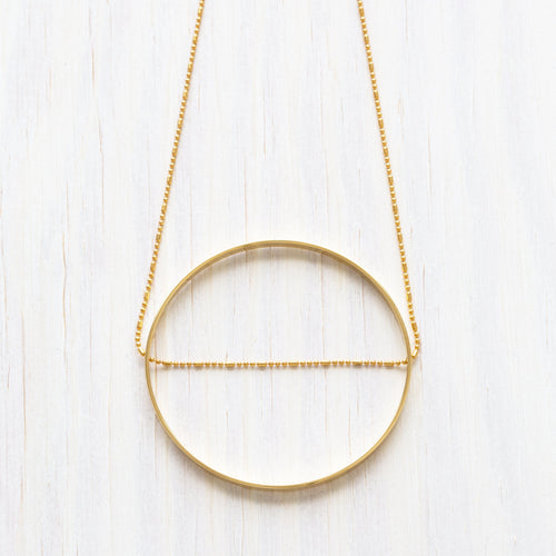 VIRTUOUS CIRCLE NECKLACE