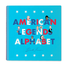Load image into Gallery viewer, AMERICAN LEGENDS ALPHABET BOOK