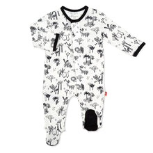Load image into Gallery viewer, ANIMAL SAFARI ONESIE