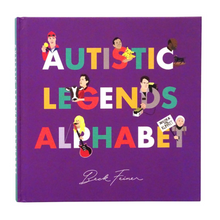 Load image into Gallery viewer, AUTISTIC LEGENDS ALPHABET BOOK