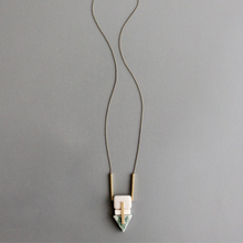 Load image into Gallery viewer, INCOMPLETE MAGNESITE NECKLACE