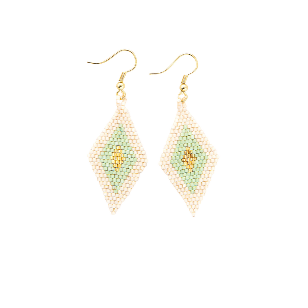 MINT DIAMOND LUXE EARRINGS