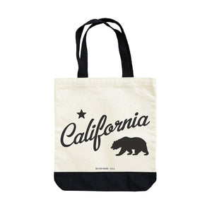 CA BEAR TOTE FULL VIEW