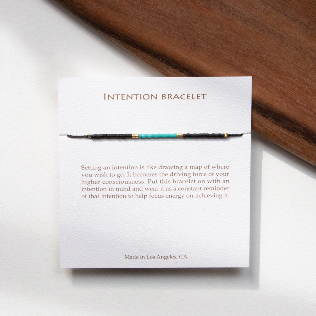 TURQUOISE INTENTION BRACELET