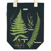 Load image into Gallery viewer, FERNS VINTAGE TOTE CLOSE UP