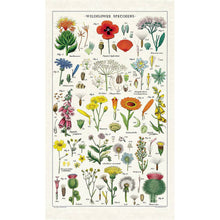 Load image into Gallery viewer, wildflowers tea towel