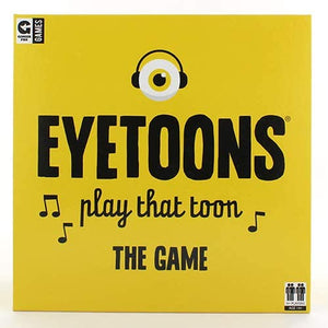 EYETOONS CARD GAME box front view