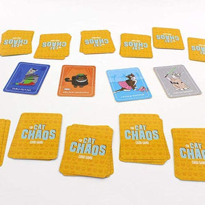 CAT CHAOS CARD GAME cards