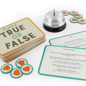 contents of the game of true or false