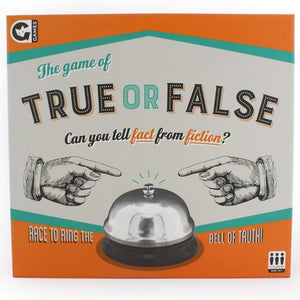 the game of true or false box