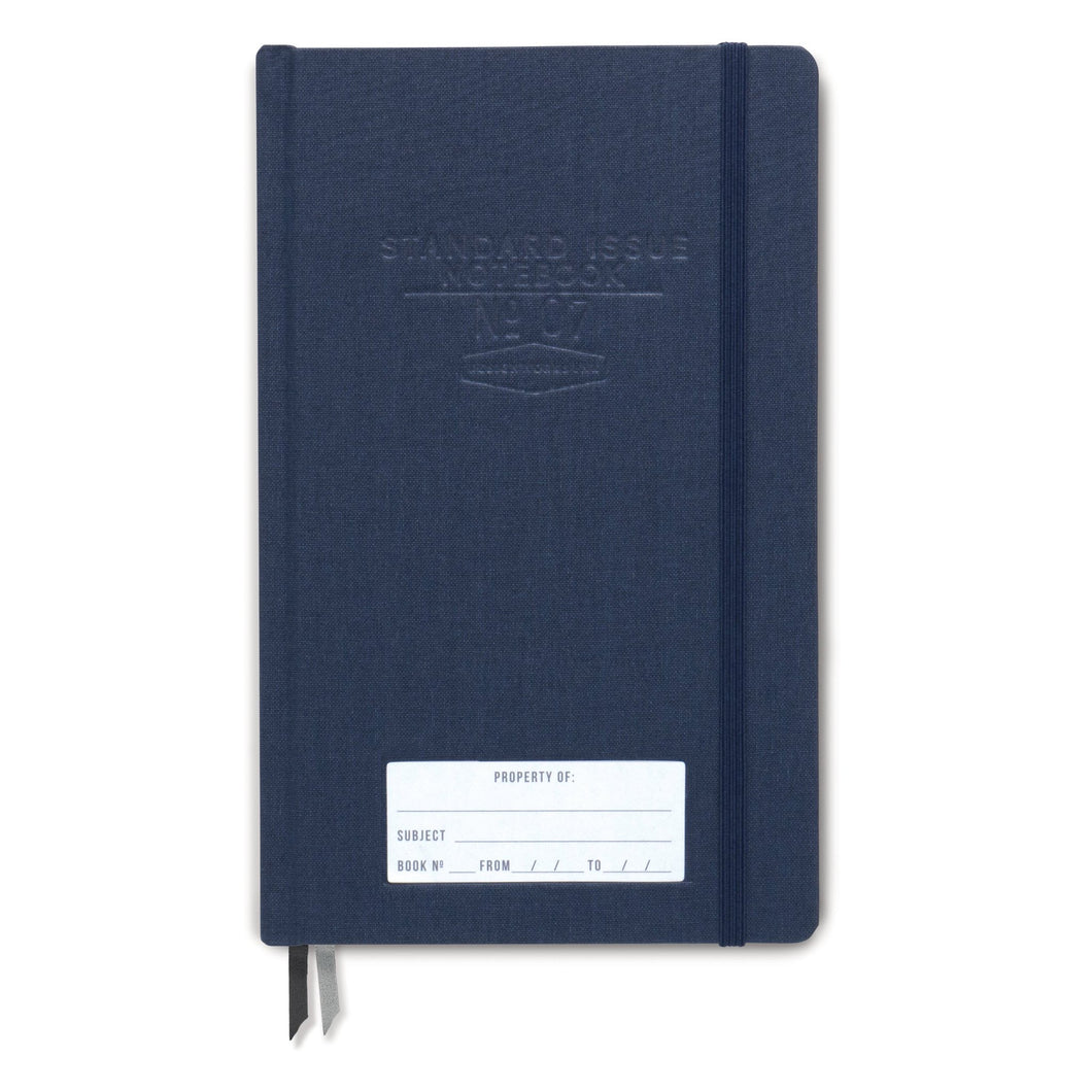 blue standard issue journal