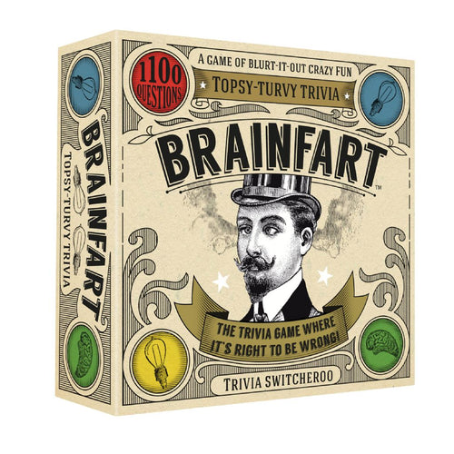 BRAIN FART front of box