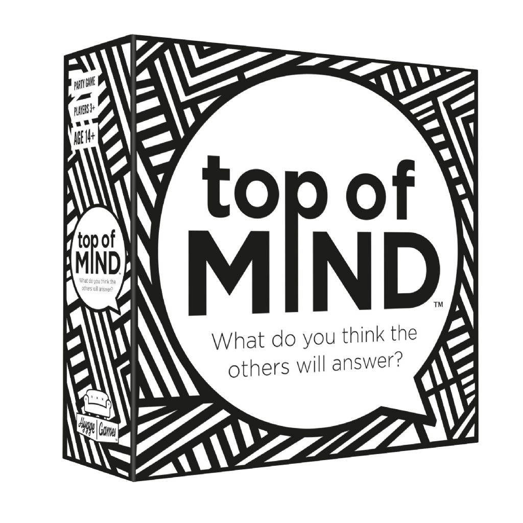 TOP OF MIND front of box
