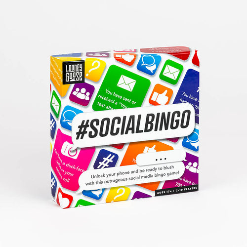 #SOCIAL BINGO GAME BOX