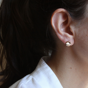 LITTLE SCULPTURAL STUDS | ONLINE EXCLUSIVE