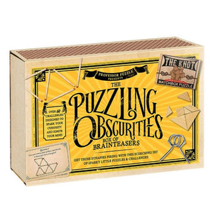 PUZZLING OBSCURITIES GAME BOX