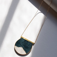 Load image into Gallery viewer, LARGE MOONSCAPE NECKLACE
