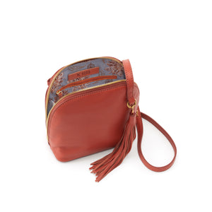 INTERIOR OF NASH CROSSBODY BAG IN SIENNA