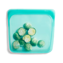 Load image into Gallery viewer, AQUA SANDWICH STASHER FILLED WITH BRUSSEL SPROUTS