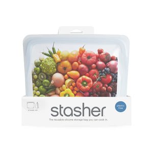 STAND UP BAG STASHER CLEAR IN PACKAGING