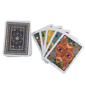 ILLUMINATED CARD DECK TAROT CARDS