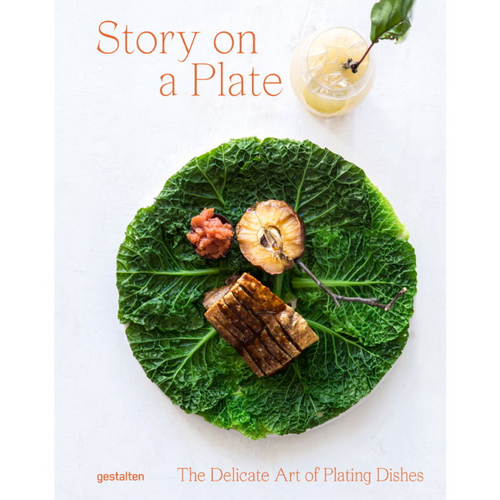 STORY ON A PLATE FRONT COVER