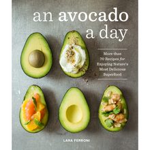 Load image into Gallery viewer, AN AVOCADO A DAY FRONT COVER