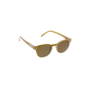 BOHO SUNGLASSES amber front side