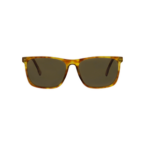 HIGHBROW SUNGLASSES honey tortoise front