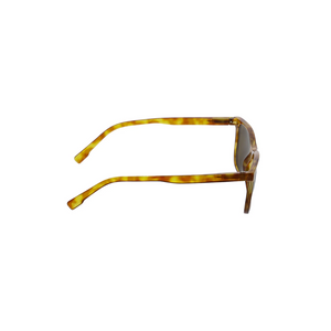 HIGHBROW SUNGLASSES honey tortoise side