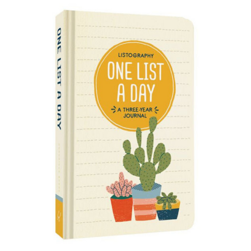 ONE LIST A DAY FRONT COVER