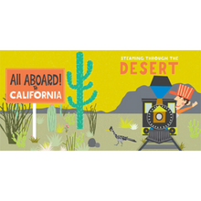 Load image into Gallery viewer, INSIDE CONTENTS ALL ABOARD CALIFORNIA
